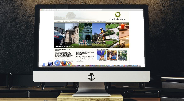 Hof Neuwies CI/CD, Website