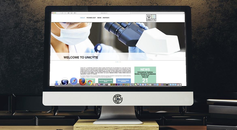 Unicyte CI/CD, Website