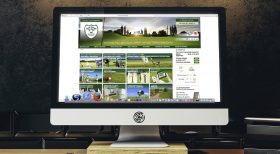 Golf-Club Golf Range Frankfurt CI/CD, Website